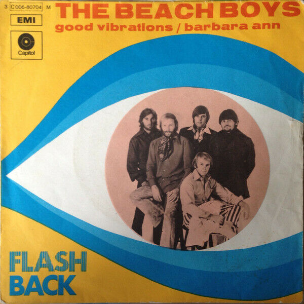 The Beach Boys ?– Good Vibrations / Barbara Ann, Italy 1966, 3C 006-80704 M, 7""