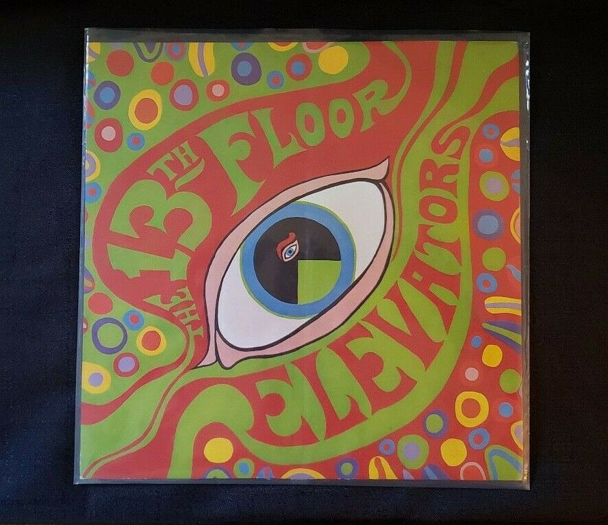 13th Floor Elevators Psychedelic Sounds Lp International Artists Mono Promo RARE