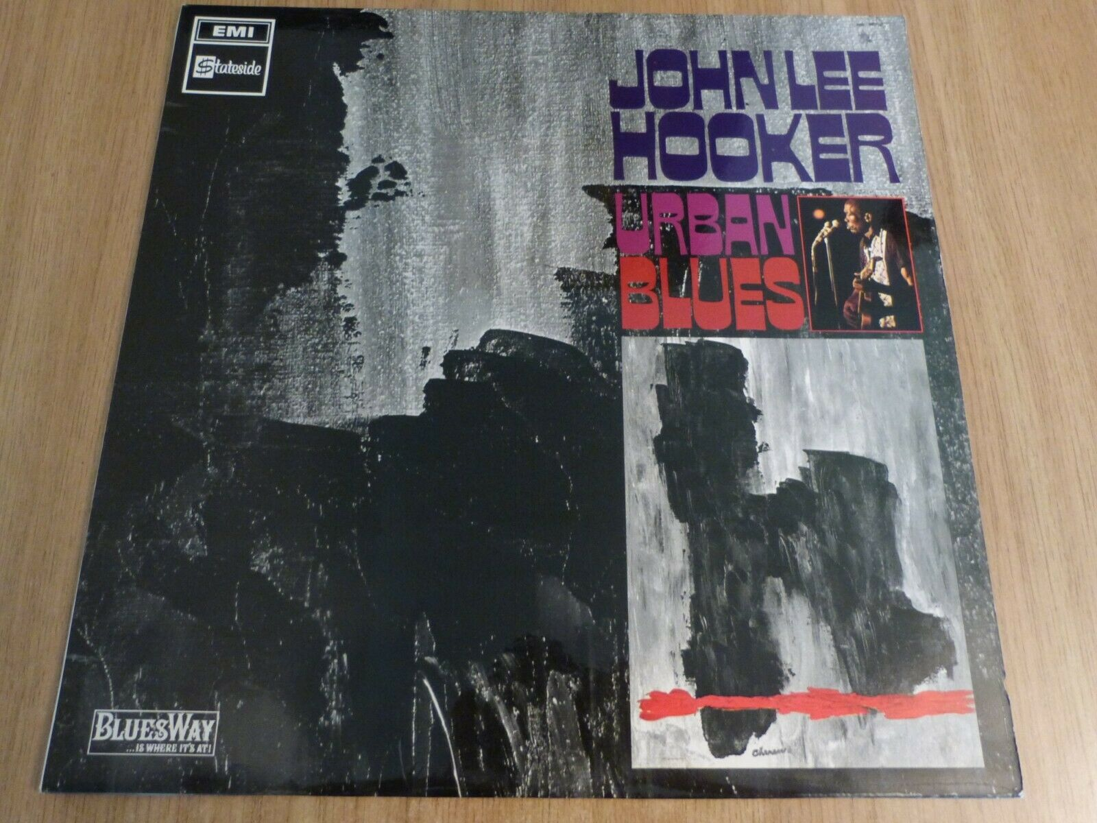 JOHN LEE HOOKER - URBAN BLUES - UK 1ST ISSUE - STATESIDE - -1/-1- EXCELLENT