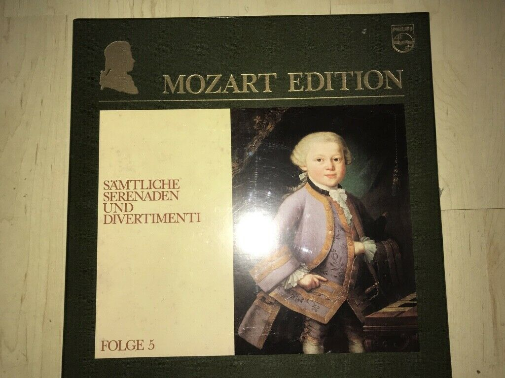 Mozart Chamber Music Vol.5 Serenades & Divertimenti Philips stereo 10LP SEALED