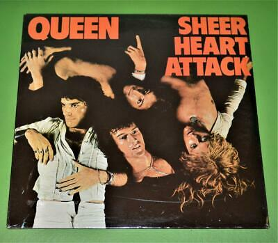 QUEEN Sheer Heart Attack  LP FACTORY SEALED Elektra Records 7E-1026 US 1974 or ?