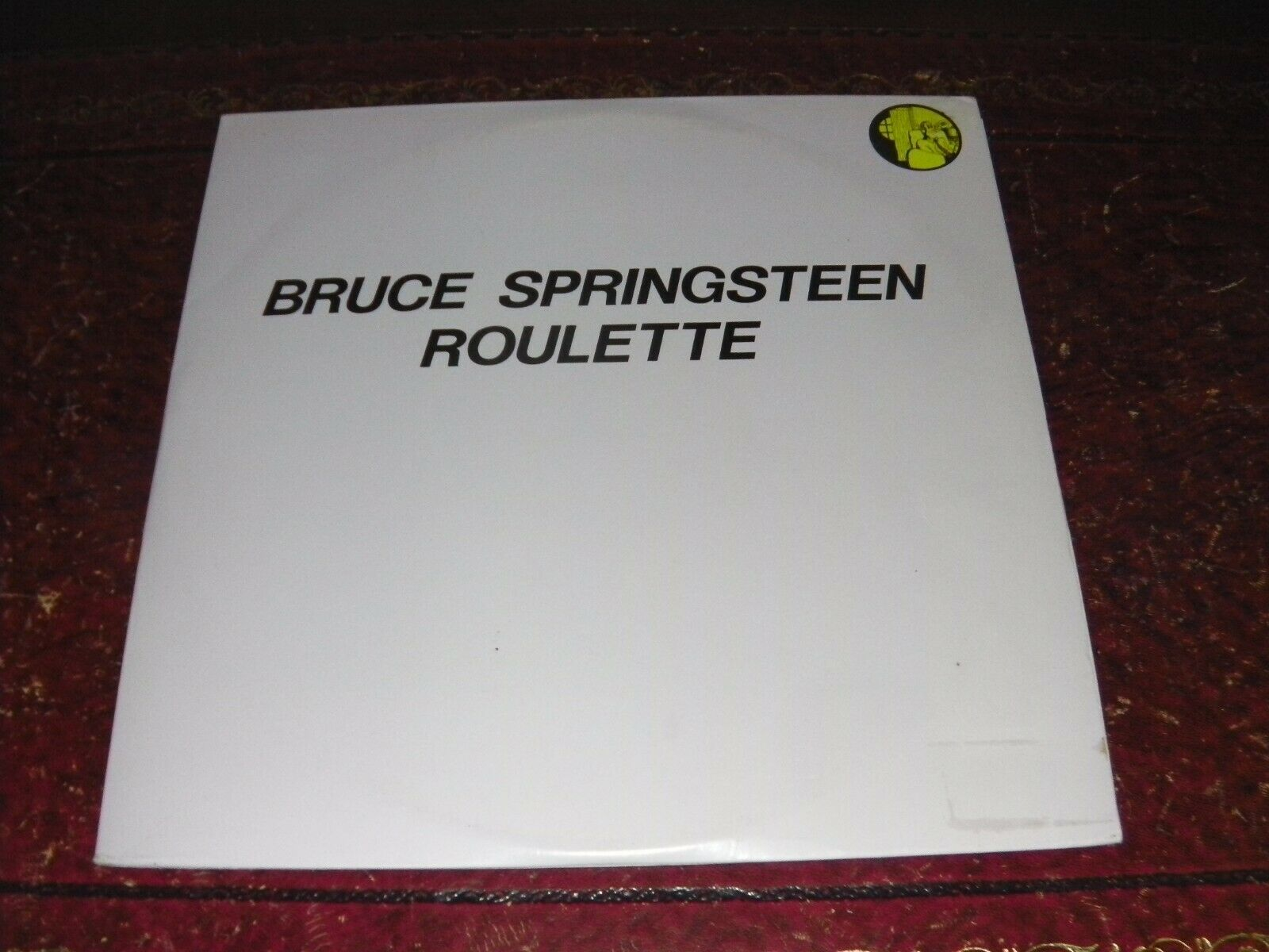 BRUCE SPRINGSTEEN - ROULETTE - ORIG TAKRL LIVE 2LP 1988 NO TMOQ TMQ