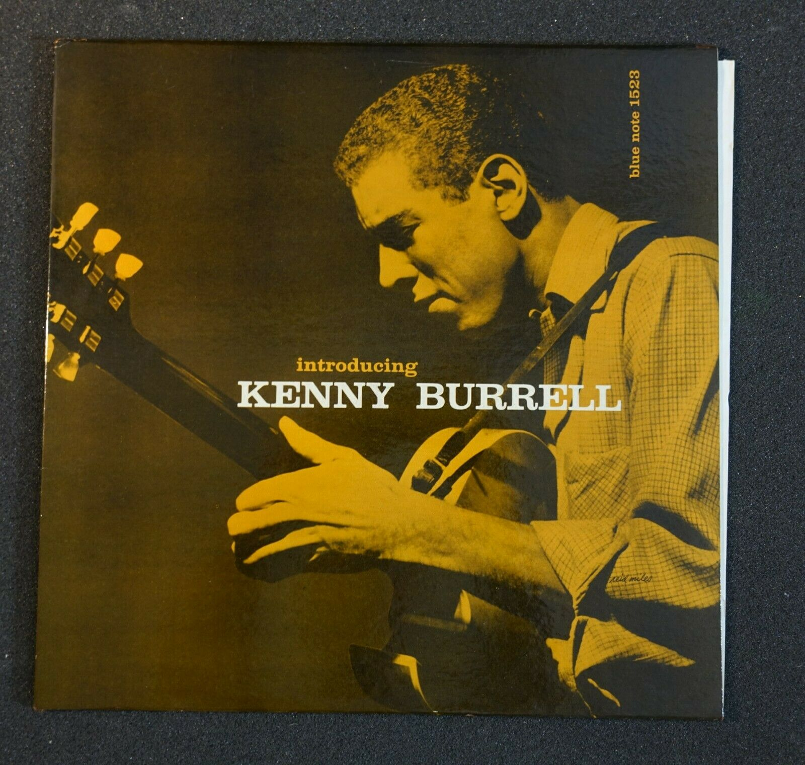 KENNY BURRELL QUINTET 'INTRODUCING KENNY BURRELL' BLP1523, LEX.RVGe,DG. ED1.NM