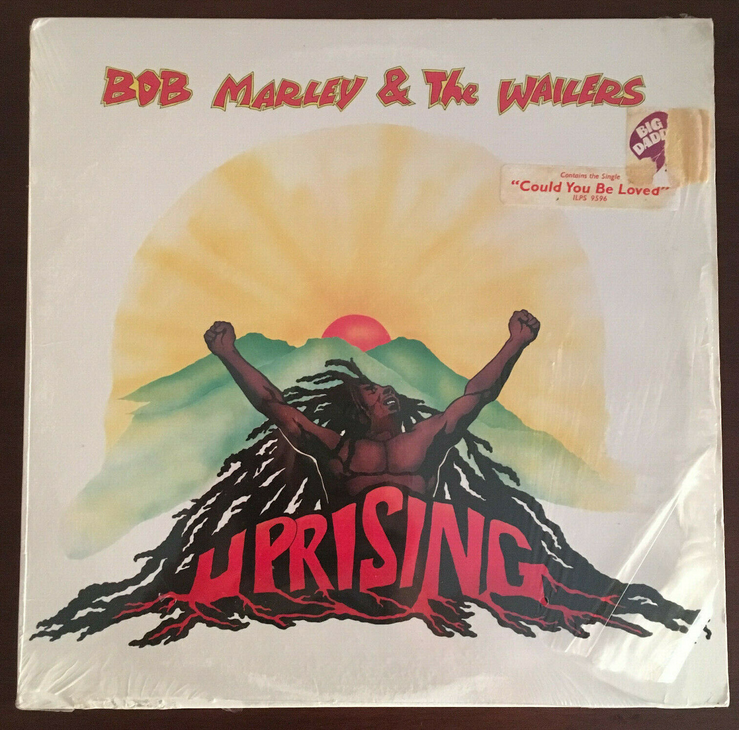 Bob Marley & The Wailers - Uprising 1st Press Vinyl US 1980 LP In Shrink Org EX