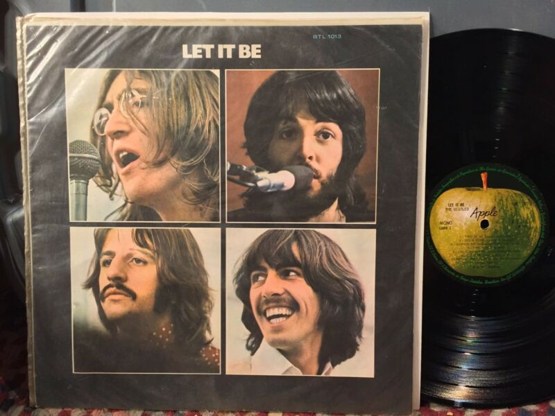 Beatles Let It Be NM BRAZIL MONO AMAZING the only mono version released