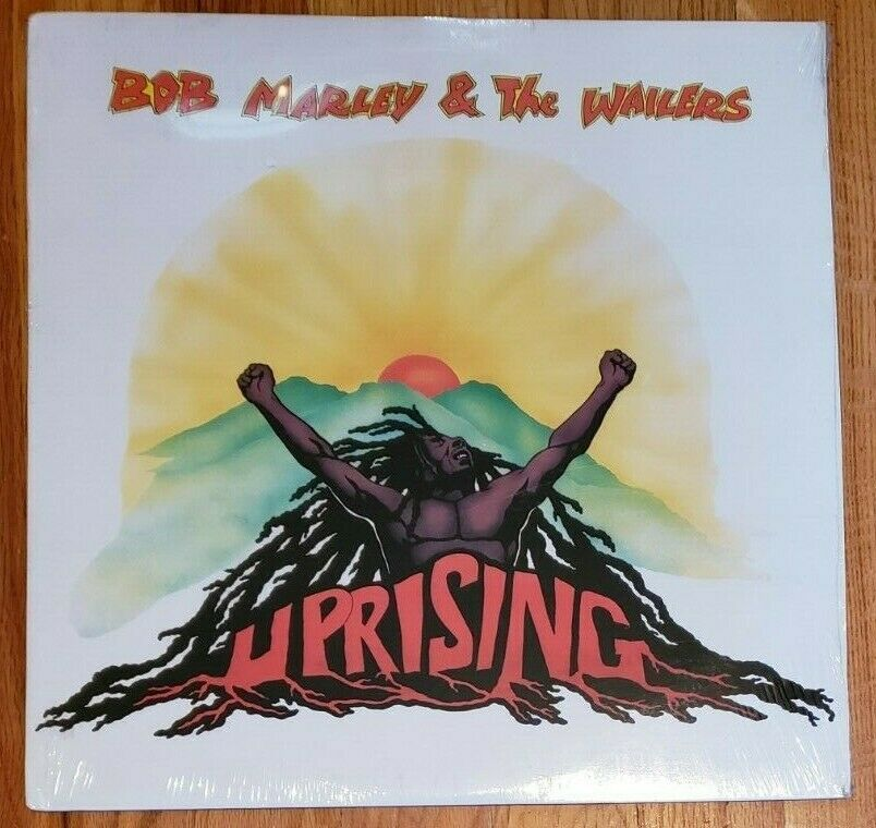 SEALED BOB MARLEY & THE WAILERS UPRISING 1980 US LP ?ILPS 9596 MINT, NO BARCODE