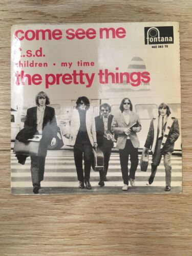 Rare Single The Pretty Things ?– Come See Me / L.S.D. / Children / My Time