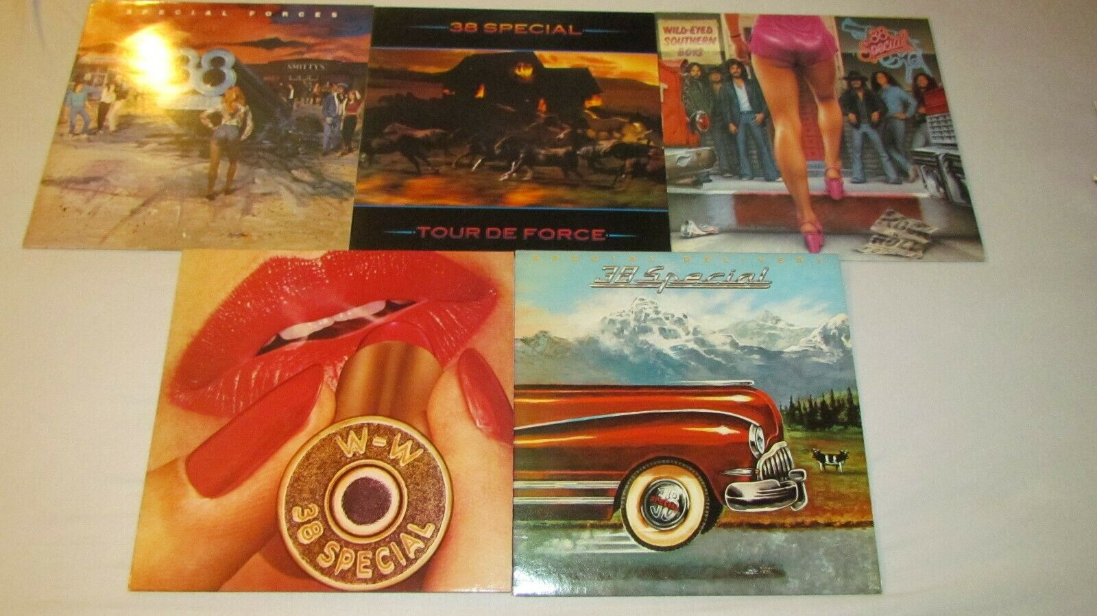 5x -38 Special - Special Forces,Delivery,Tour de Force,Rocking into the Night