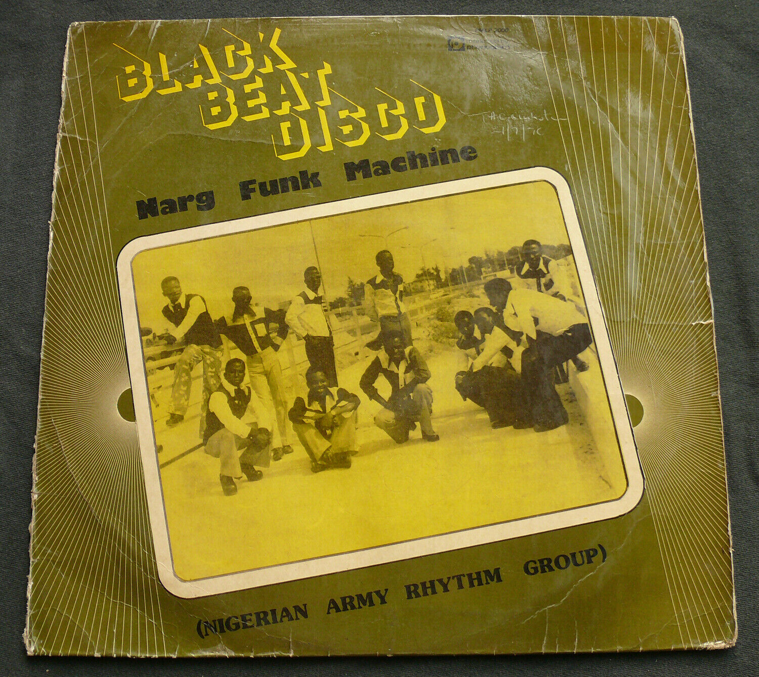 Nigerian Army Rhthym Group- Black beat disco COCONUT afro beat afro funk LISTEN