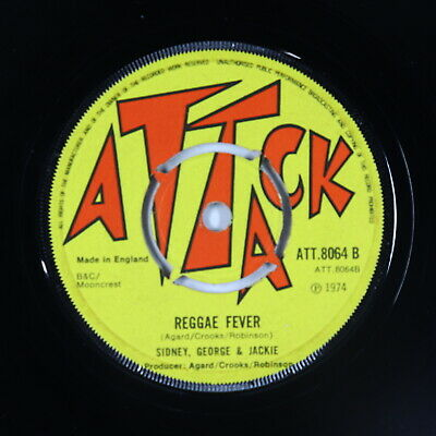 Reggae 45 - Sidney, George & Jackie - At The Club - Attack UK - mp3