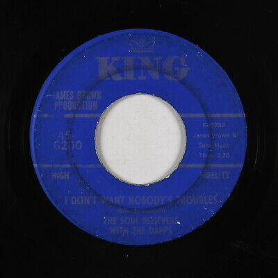 Funk 45 - Soul Believers & Dapps - I Don't Want Nobody's Troubles - King - mp3