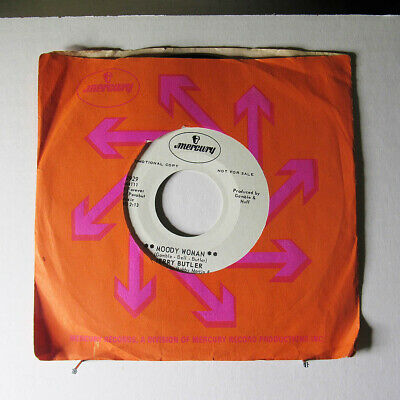 JERRY BUTLER-MOODY WOMAN ON MERCURY NORTHERN 45-NM, HEAR