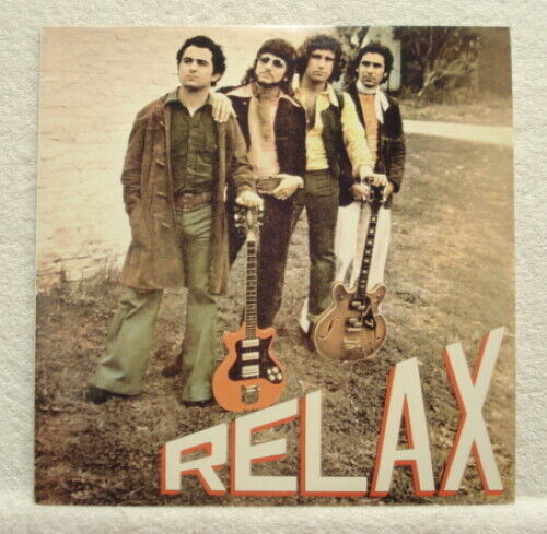 * * Relax - Padre, nice M-/M- RE of rare 1975 Argentina psychedelic hard rock Lp