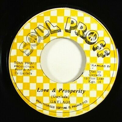 "Gaylads ""Love & Prosperity"" Reggae 45 Soul Proff mp3"