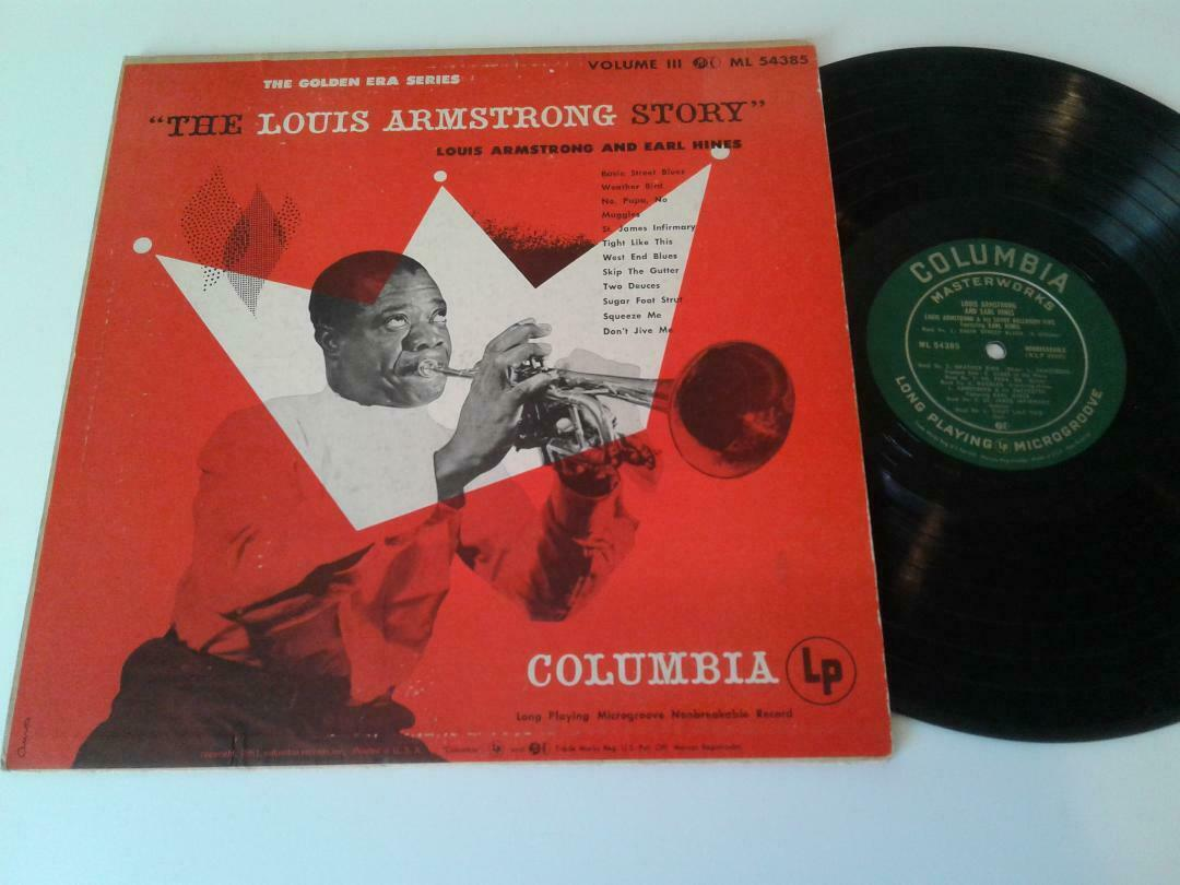 Louis Armstrong and Earl Hines  The Louis Armstrong  Story Volume III  Nice VG+