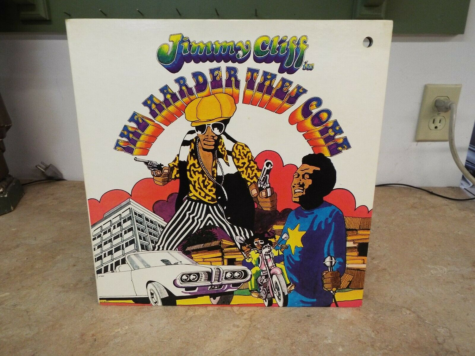 Jimmy Cliff The Harder They Come LP VINYL ALBUM
