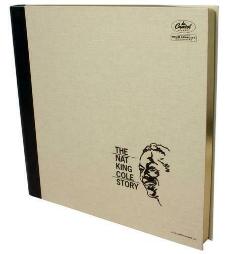 THE NAT KING COLE STORY Vinyl 5LP Box Set by Analogue Productions 45 RPM  SEALED