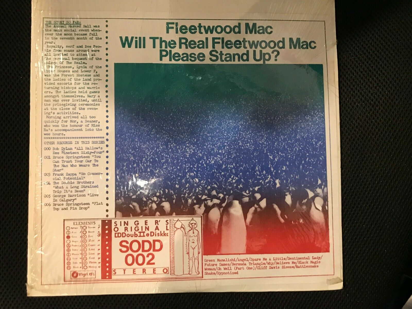 Fleetwood Mac -Will the Real Fleetwood Mac Please Stand Up,Unofficial LP, SEALED