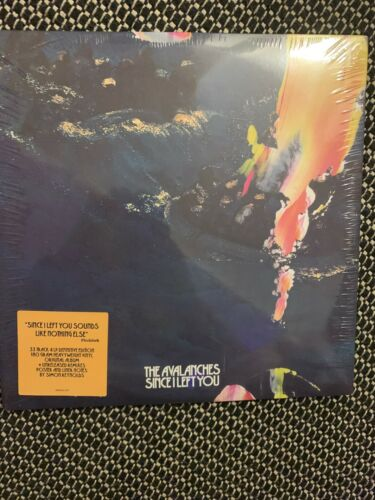 The Avalanches ?– Since I Left You 4LP DELUXE VERY RARE COLLECTABLE 33 TRACKS