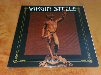 Hand-Numbered Double LP Record,Vinyl disc:VIRGIN STEELE-Invictus(NOTVD)DeFeis