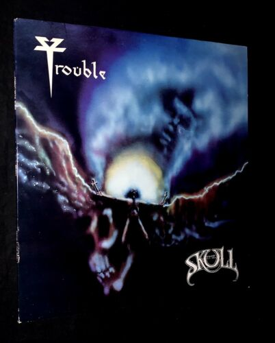 Trouble - The Skull - 1985 First Press Metal Blade Vinyl - Excellent With Insert