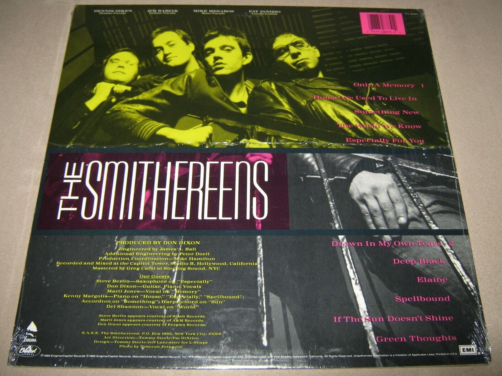 popsike.com - The SMITHEREENS Green Thoughts MINTY FACTORY