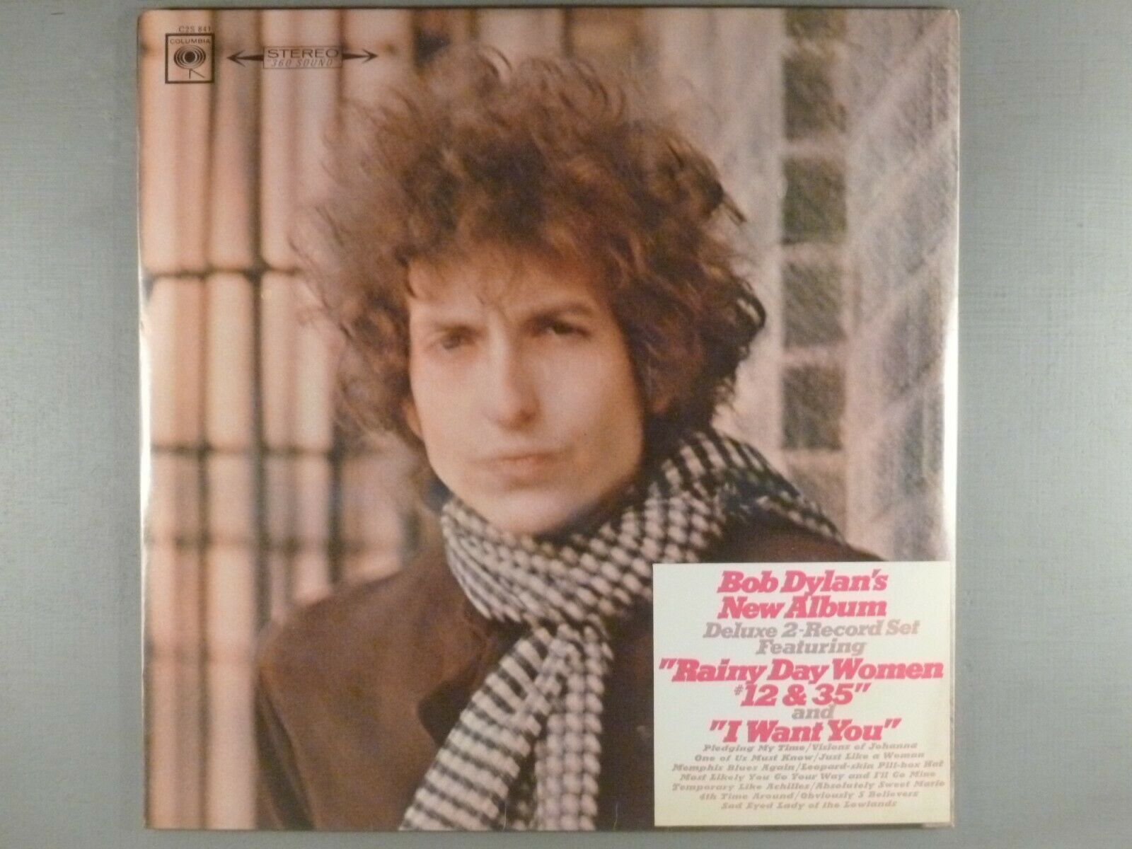 Bob Dylan  Blonde On Blonde   SEALED  With Original Hype Sticker VERY RARE
