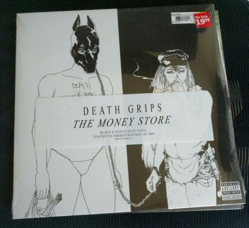 DEATH GRIPS The Money Store RSD black/white split New Sealed #233 of 1000
