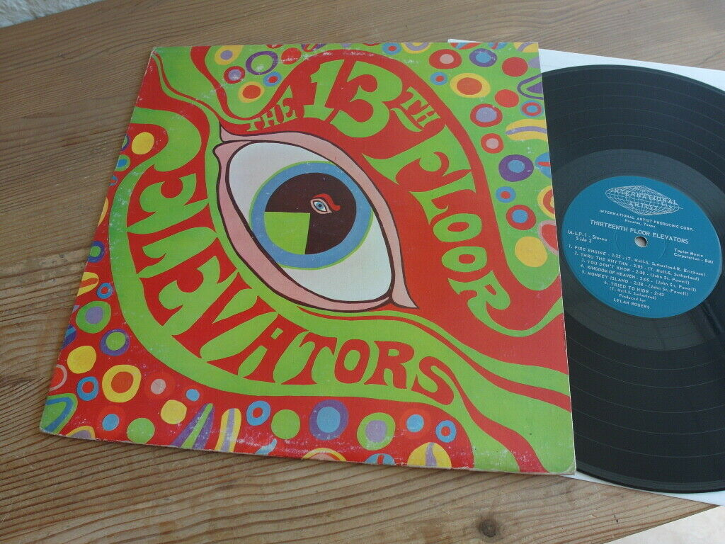 The 13th Floor Elevators* ?– The Psychedelic Sounds Of Lp Original 1967