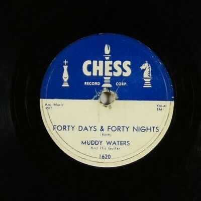 """Muddy Waters """"Forty Days & Forty Nights"""" Blues 78 Chess 1620 mp3"""