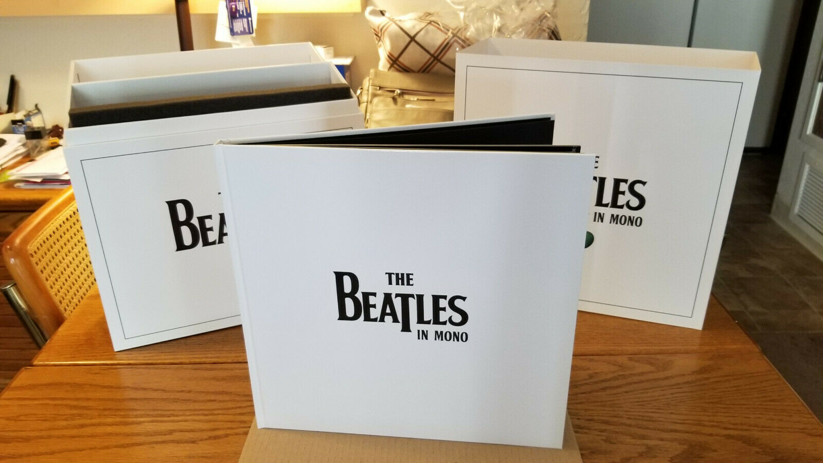 The Beatles in Mono Vinyl Box Set as NEW Never Played (14 Discs, Sep - 2014)