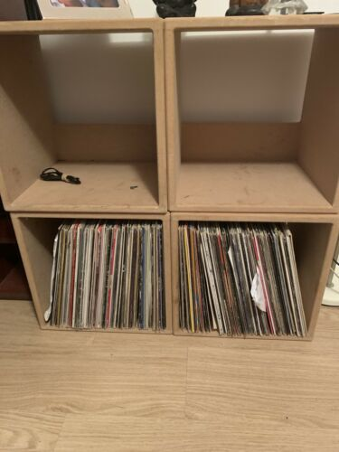 10,000+ Dance House Euro House Trance Techno Etc Includes 8 Wood Store Boxes