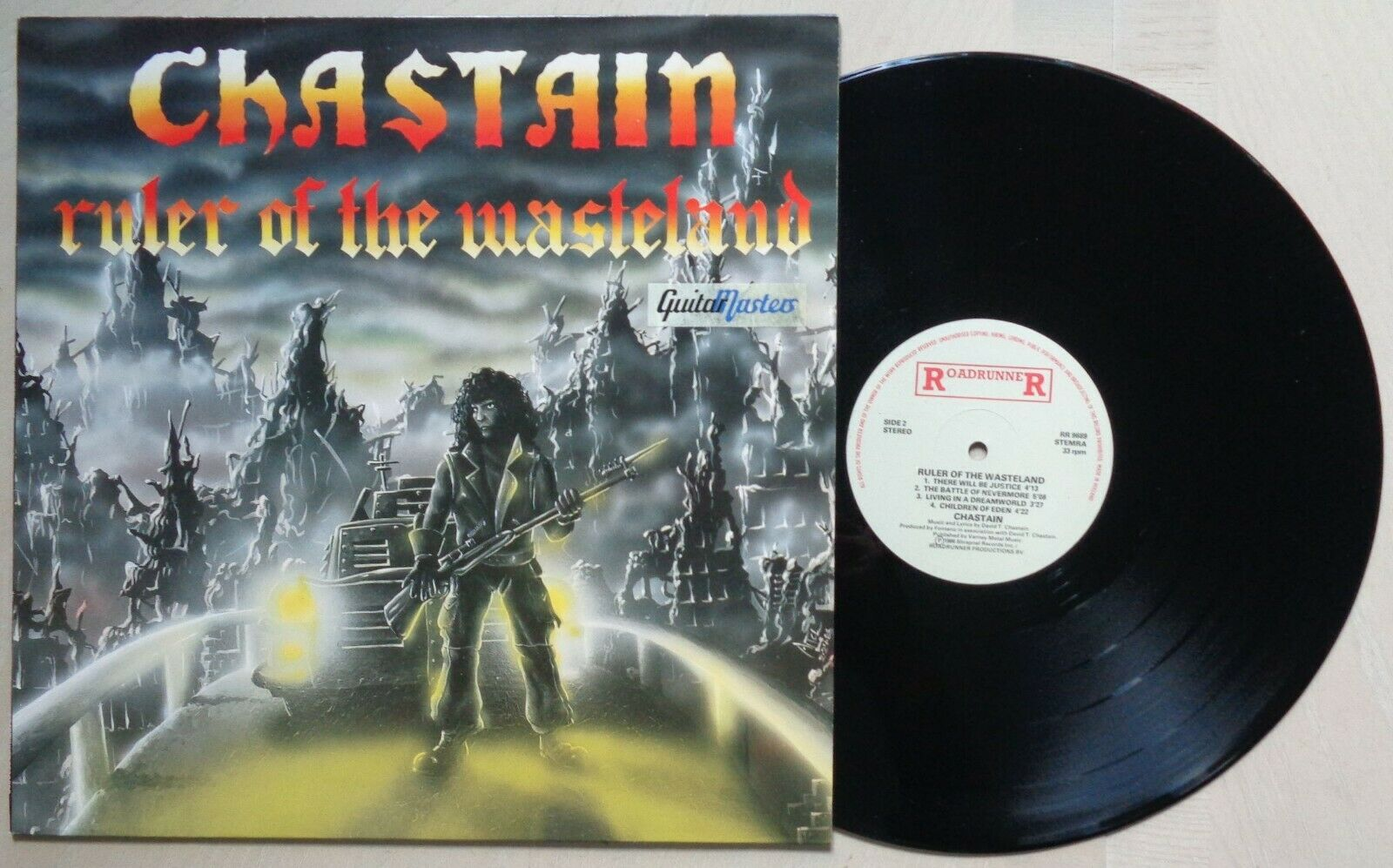 Chastain	Ruler of the Wasteland	RR 9689	NL 1st press LP (68)