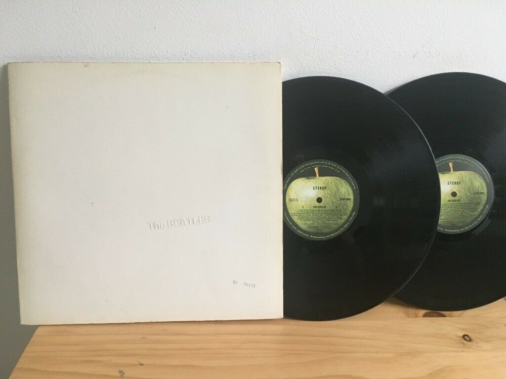 THE BEATLES   (WHITE ALBUM) ..1968 Numbered OZ Orig. Poster & Photos PCSO7067