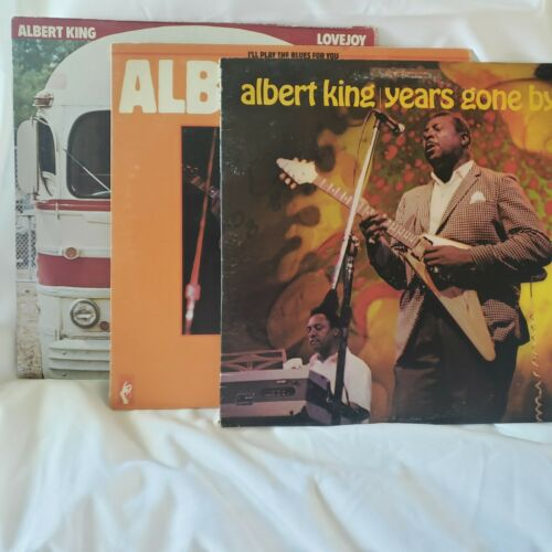 ALBERT KING LP 3 Pack- Lovejoy, Years Gone By, I'll Play The Blues For You Album