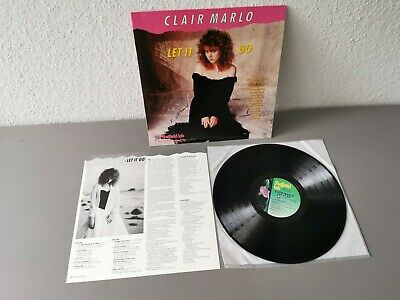 CLAIR MARLO     original 180 gram Vinyl LP     Let It Go (1989)