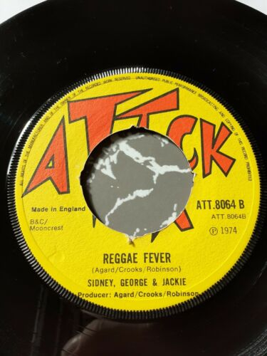 Sidney george & Jackie reggae fever / at the club skinhead classic rare