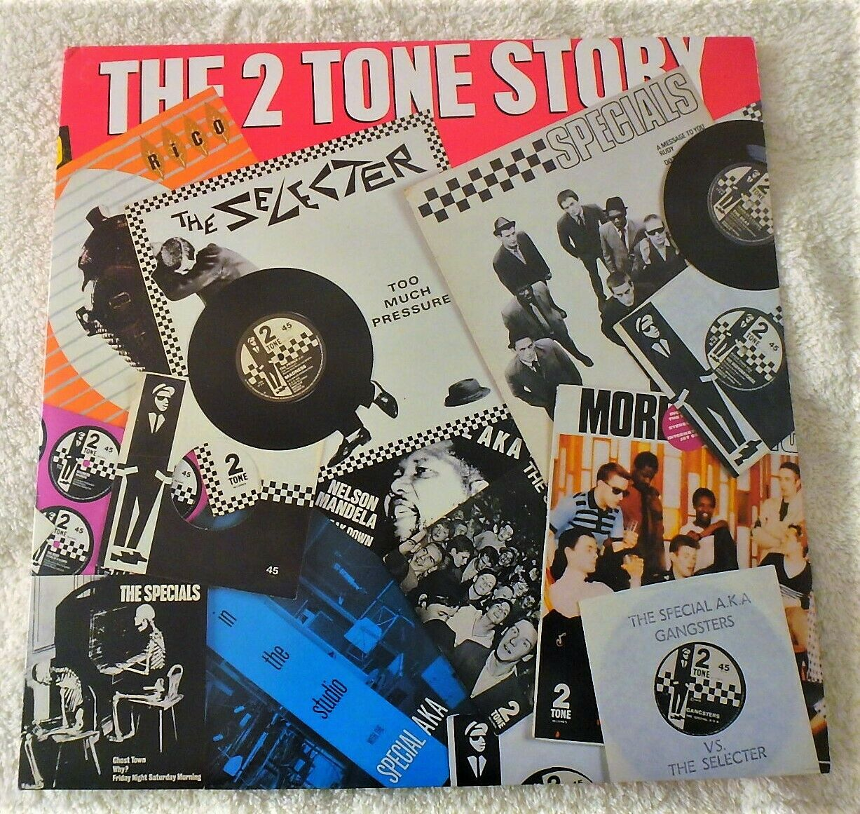 """TWO TONE 2 TONE""""THE 2 TONE STORY""""THE SPECIALS /THE SELECTER /THE BEAT/ MADNESS"""