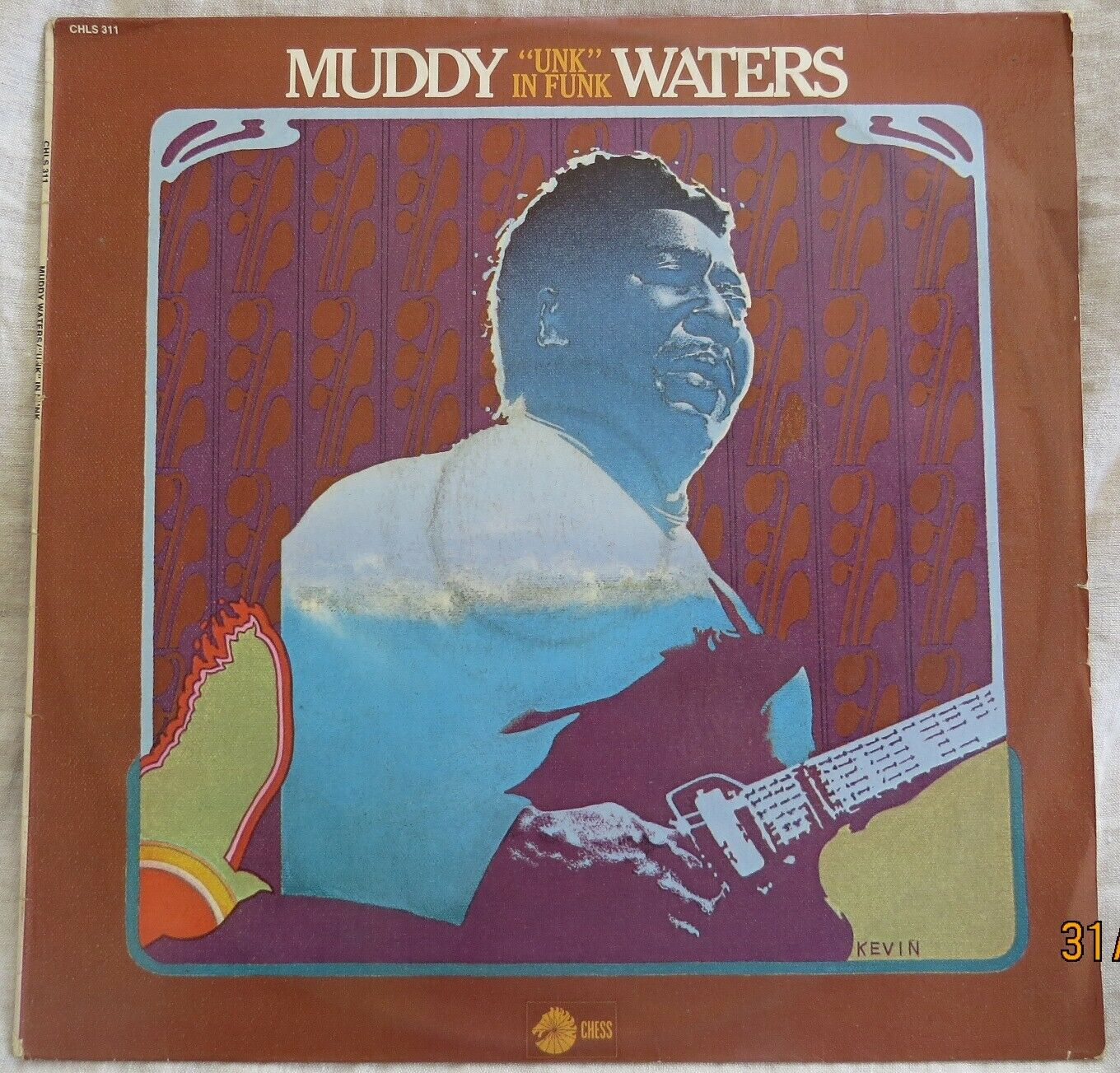 Muddy Waters - Unk in Funk - 1974 Chess LP