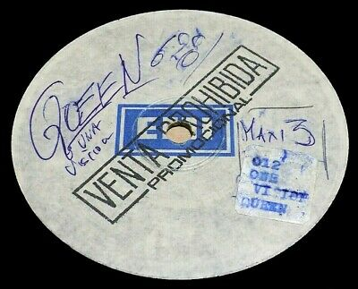 """RARE QUEEN ONE VISION SOUTH AMERICA TEST PRESSING 12"""" MAXI SINGLE"""