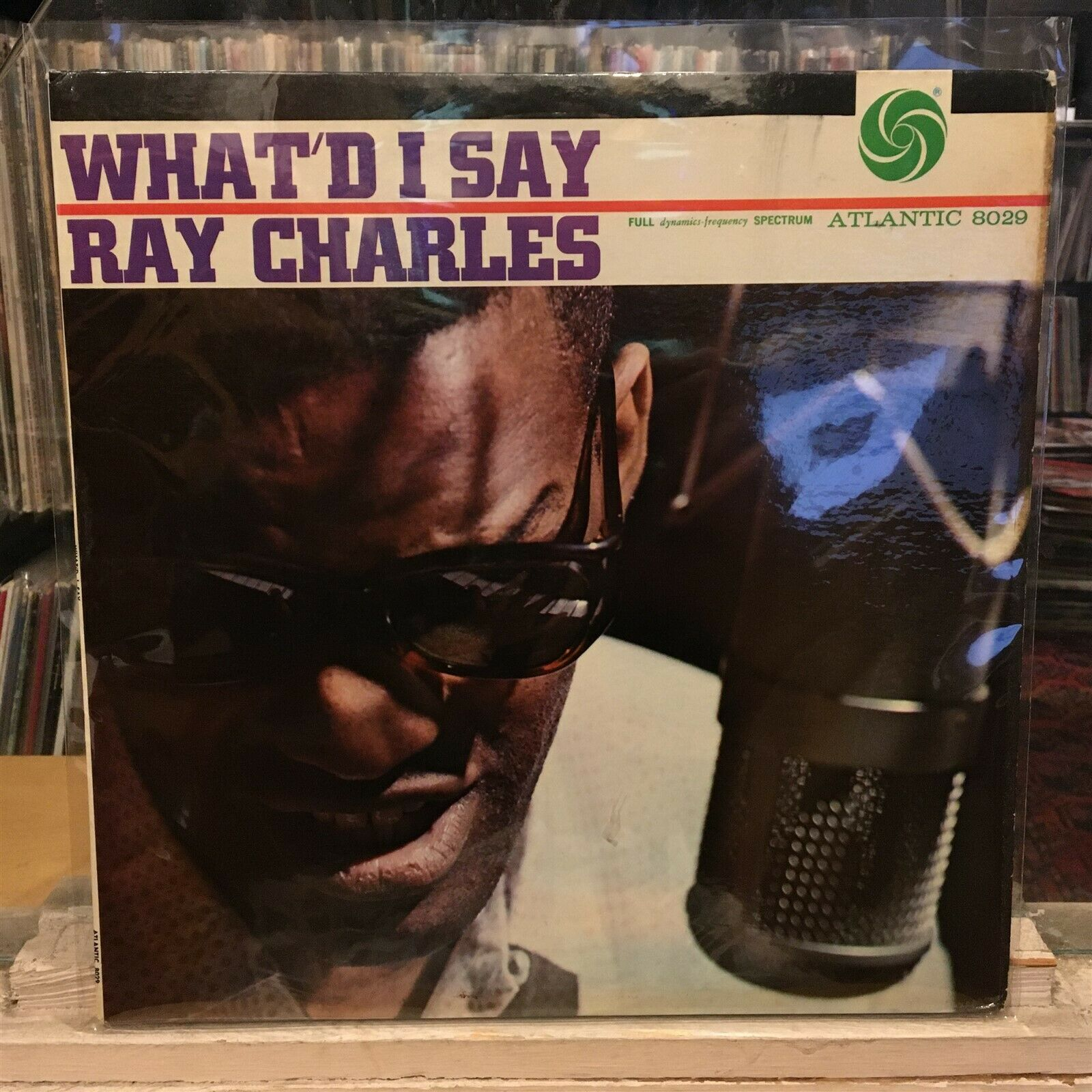 [SOUL/JAZZ] EXC/VG+ LP RAY CHARLES What'd I Say {Og 1962 ATLANTIC MONO Issue]