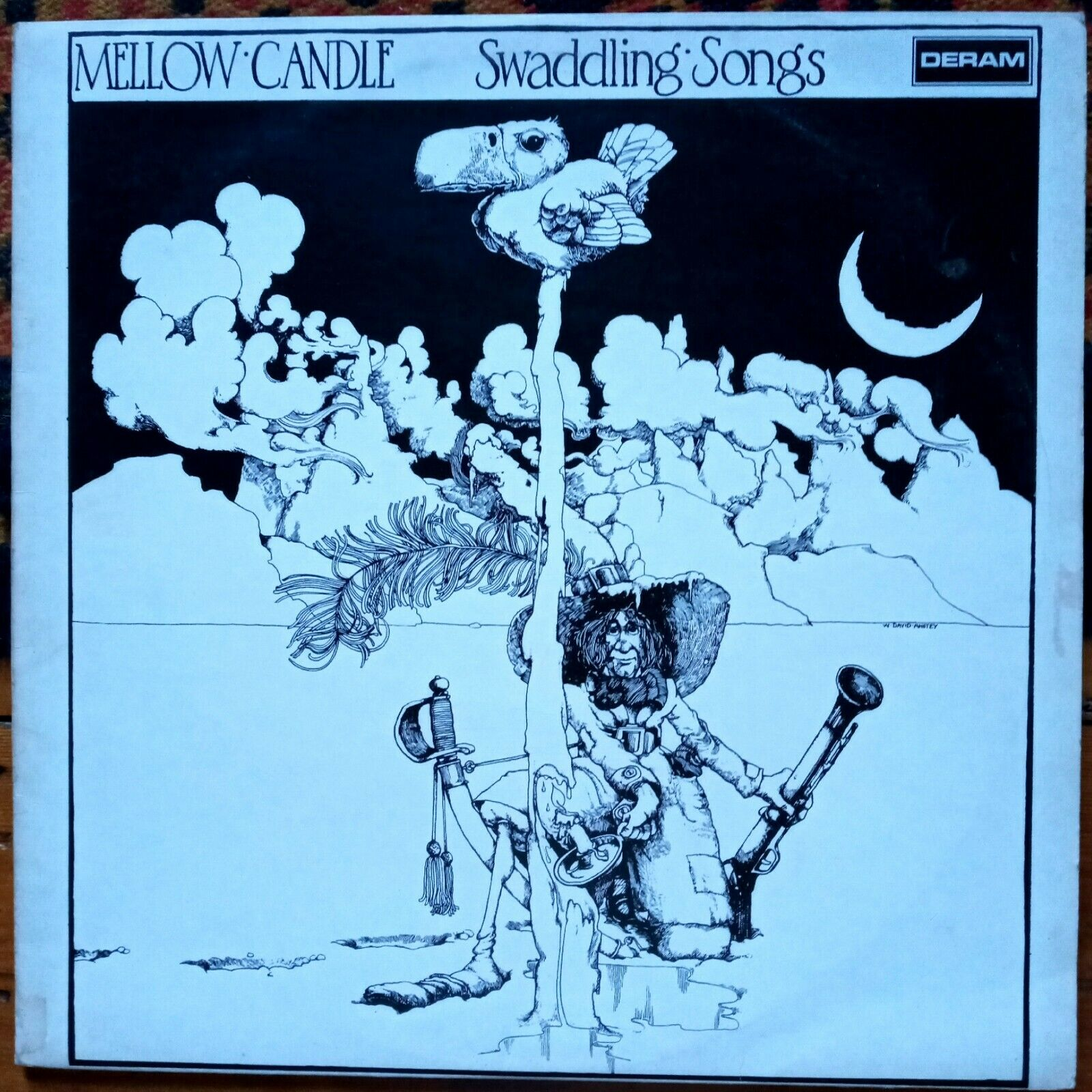 Mellow Candle - Swaddling Songs - Deram - 1972 UK First Pressing