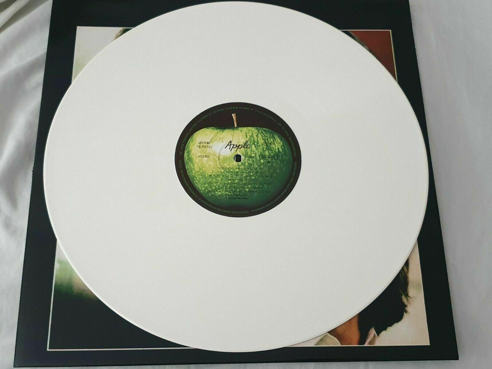 The Beatles - Let It Be - White Vinyl - Brazil - New/Unplayed