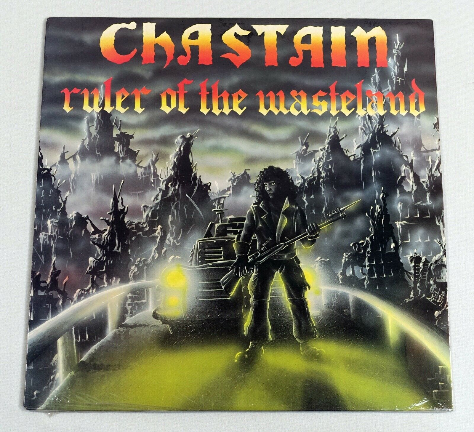 Chastain - Ruler of the Wasteland LP  Shrapnel SH-1024 Sealed In Shrink Wrap NEW