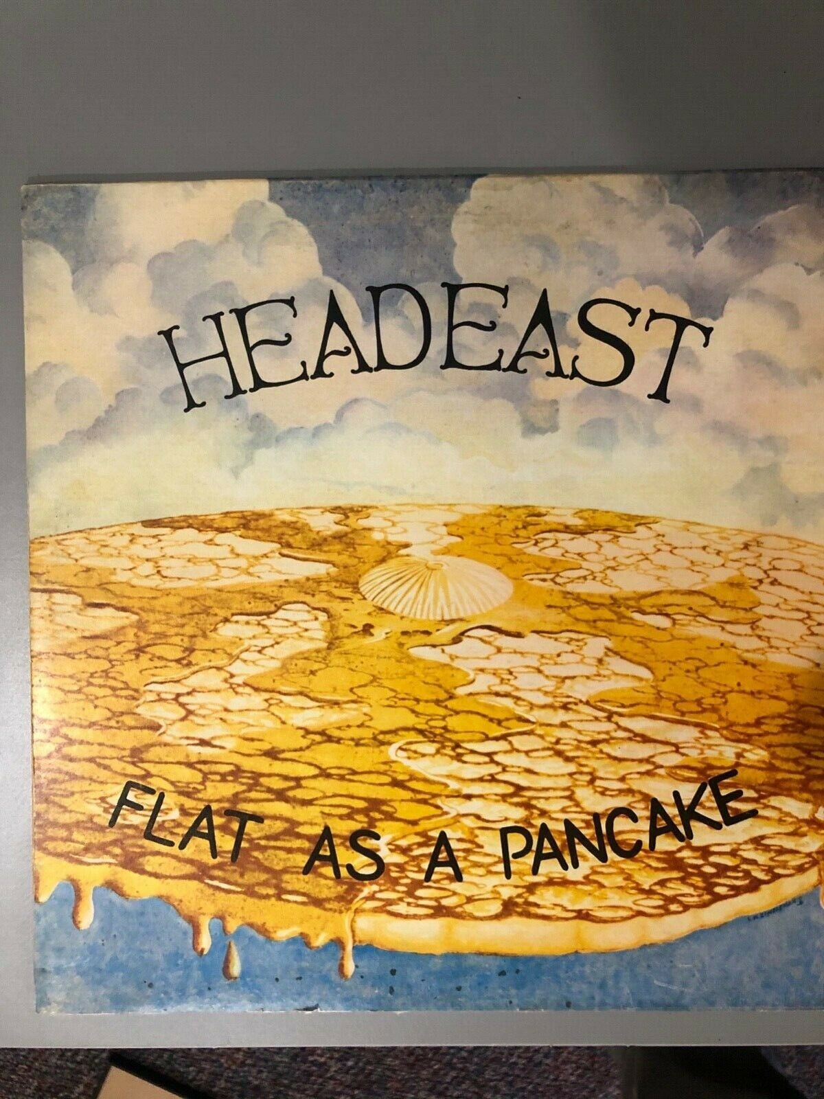Head East first album Flat as a Pancake, produced by Pyramid Records 1974