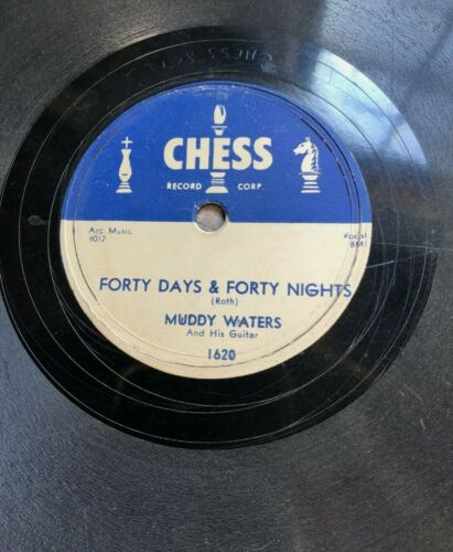 Muddy Waters - Forty Days and Forty Nights & All Aboard - Chess 1620