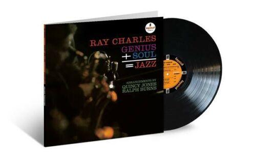 Ray Charles - Genius + Soul = Jazz LTD Acoustic Sounds Vinyl LP NEW PRE 30/4