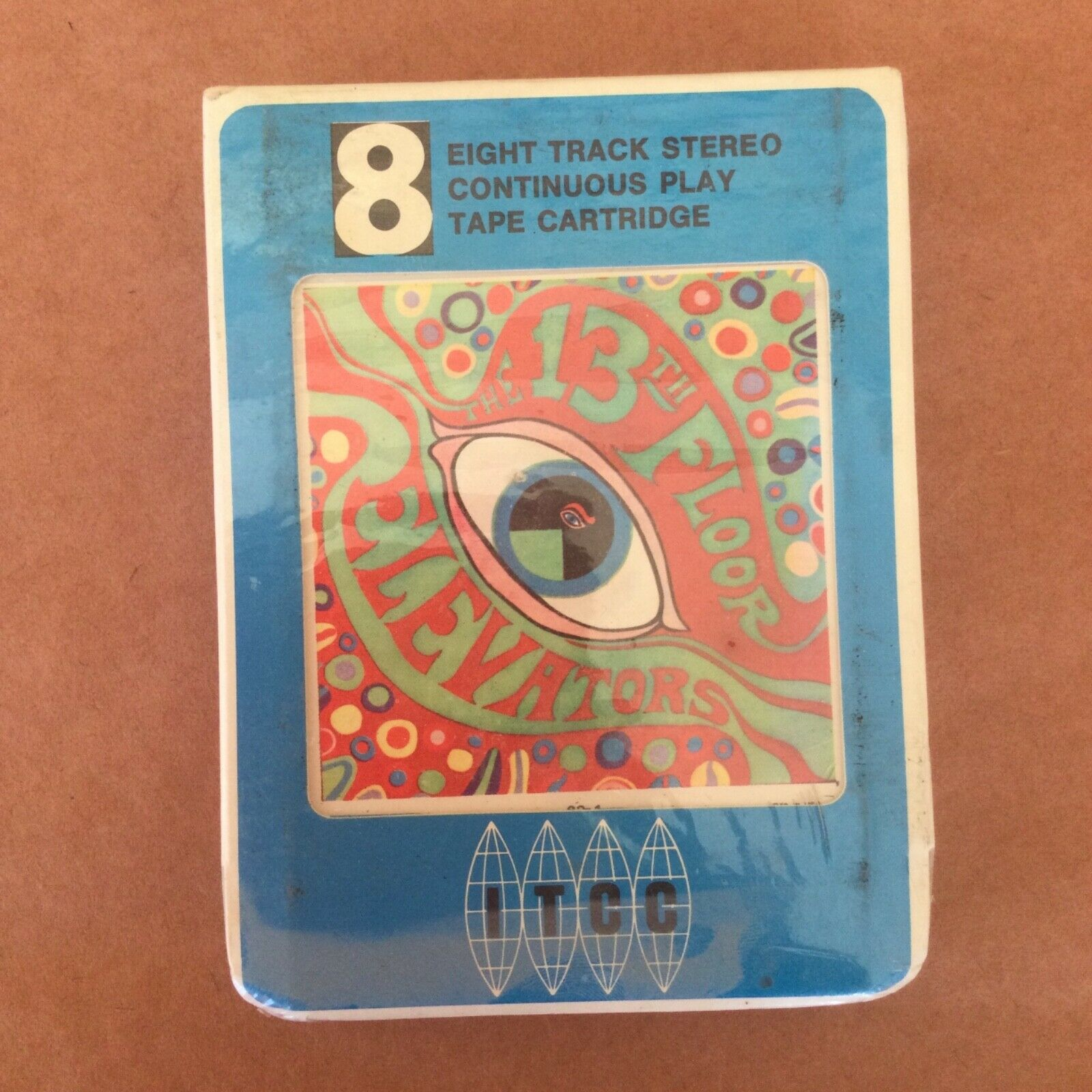 13th Floor Elevators 8 track tape RARE SEALED Roky Erickson Psychedelic Sounds