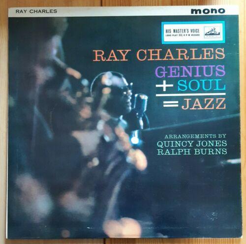 Ray Charles.Genius+Soul=Jazz. Mono vinyl. CLP 1475. Factory Sample. Quincy Jones