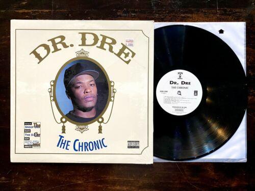 DR DRE THE CHRONIC LP Near Mint+ In Shrink Original 1st Press